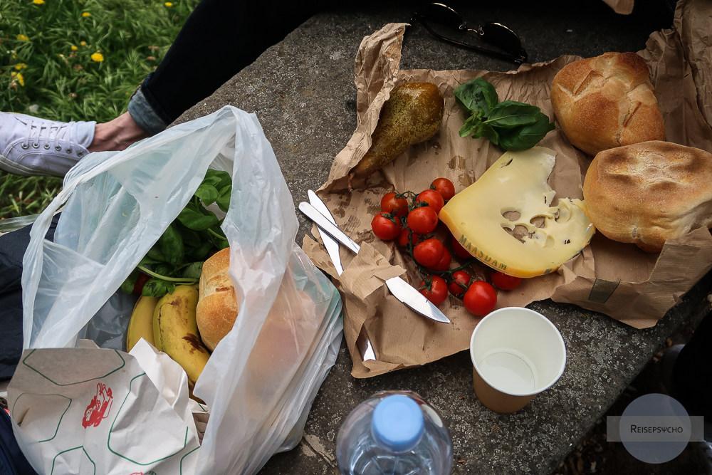 Picknick in Rom