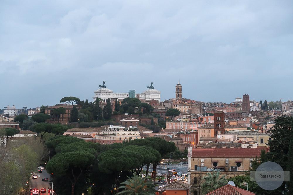 Aventin Ausblick auf Rom