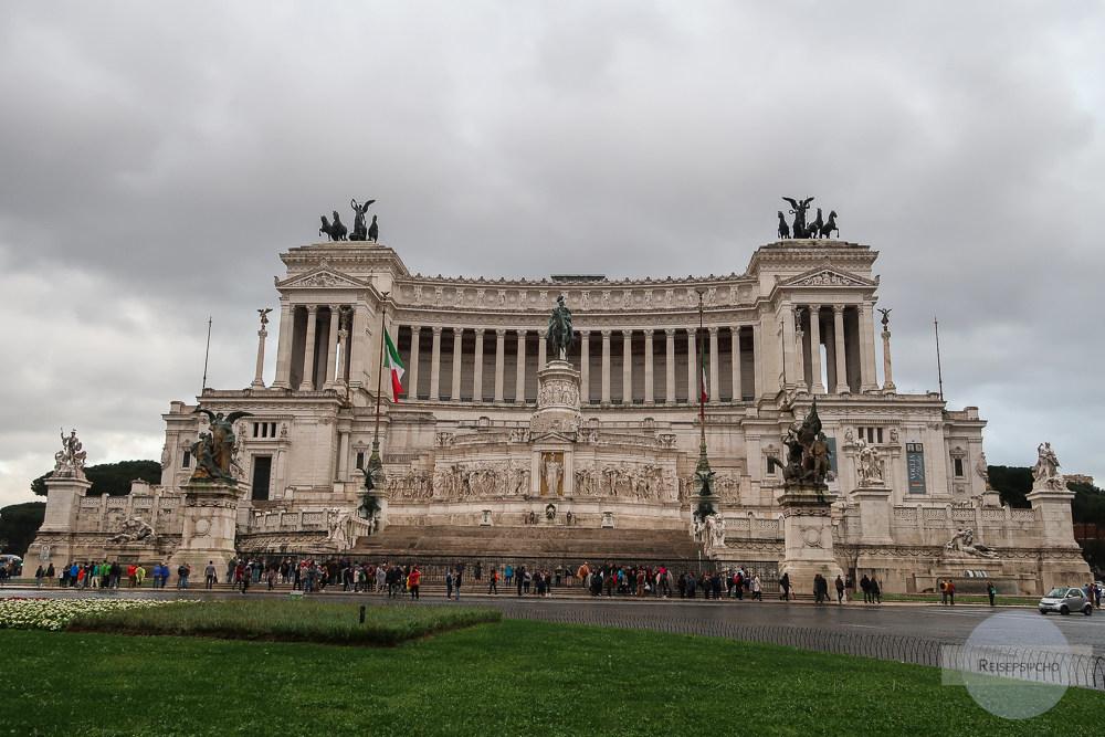 Monumento Vittorio Emanuele II in Rom