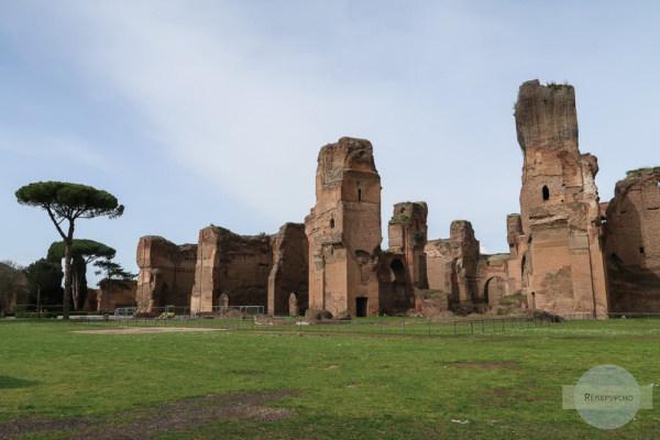 Die Caracalla Thermen sind ein Rom Geheimtipp