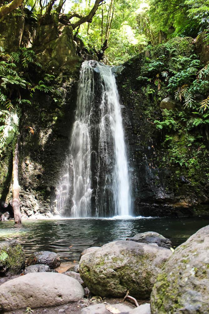 Wasserfall Salto do Prego auf den Azoren