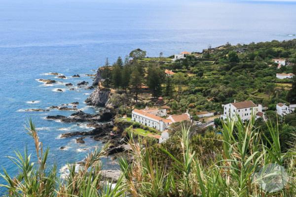 Ausblick auf das Meer auf den Azoren
