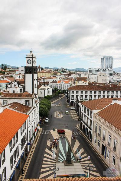 Ponta Delgada ist die Hauptstadt auf den Azoren