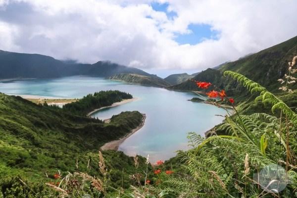 Lagoa do Fogo auf den Azoren