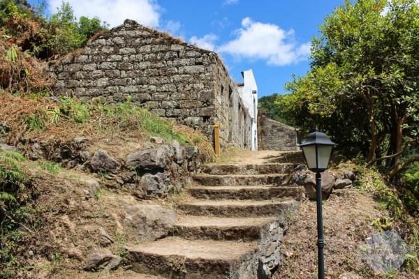 Sanguinho auf den Azoren - verlassenes Dorf