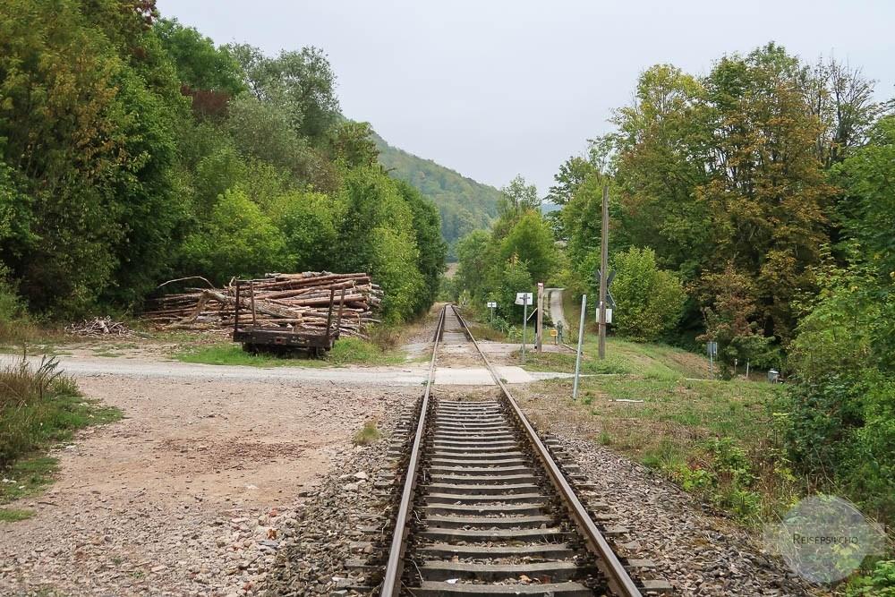 Draisinenfahrt in Lengenfeld unterm Stein