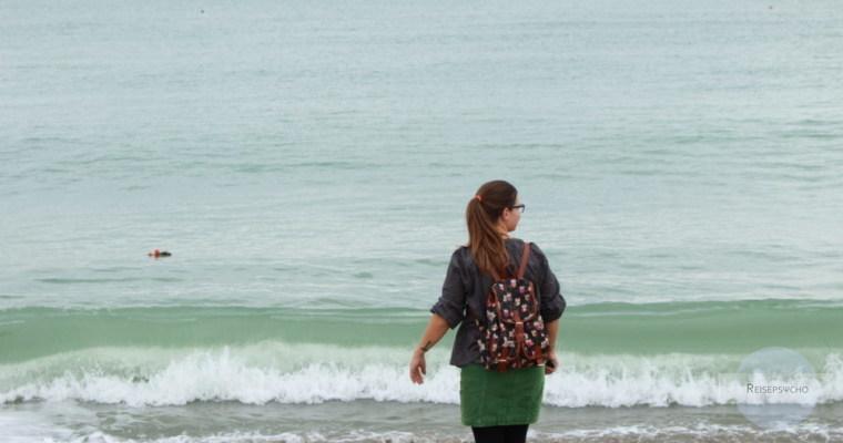 Reisen bedeutet Veränderung - Spaziergang am Meer