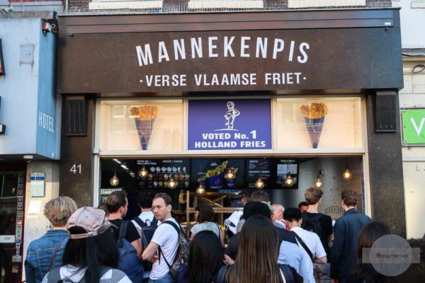 Mannekenpis Pommesbude in Amsterdam