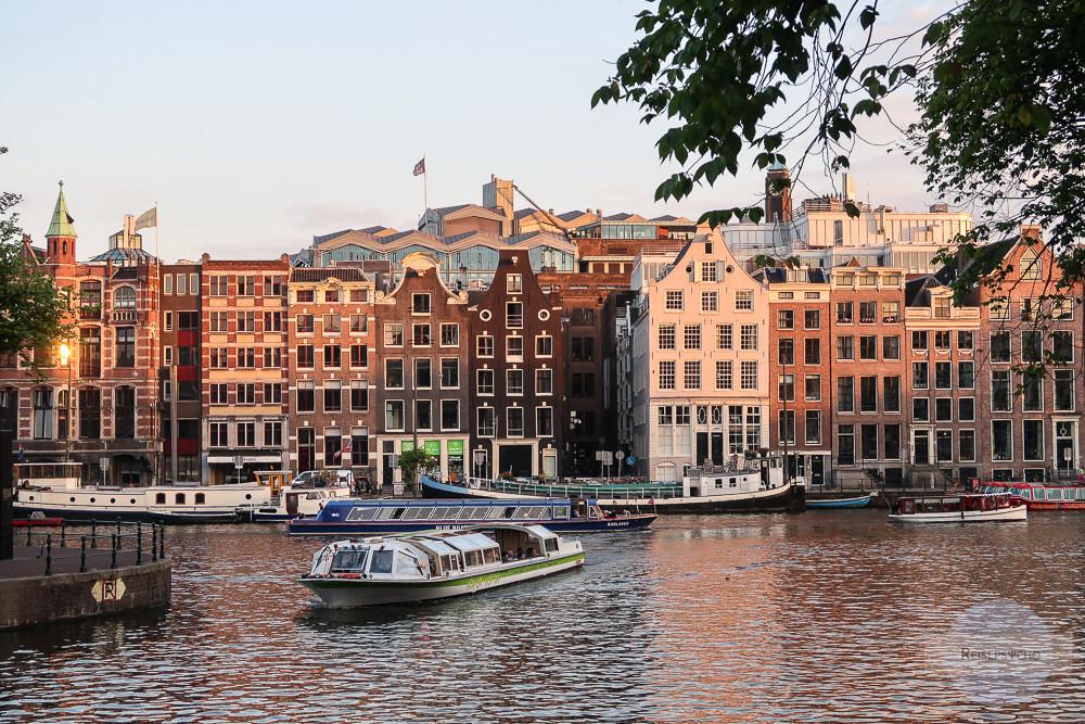 Amsterdam im Sonnenuntergang