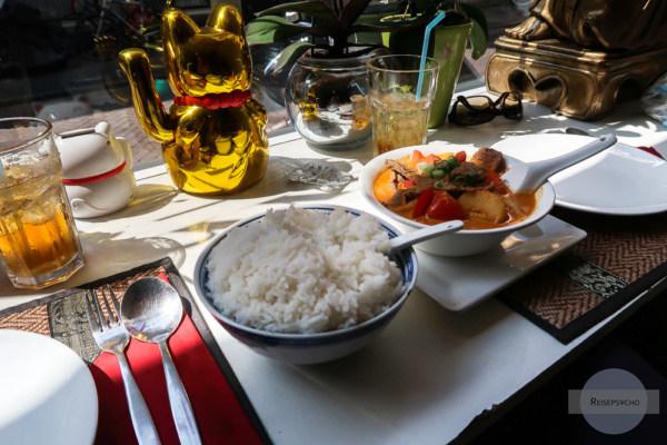 Asiatisches Essen in Amsterdam