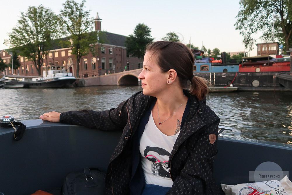 Grachtenfahrt Amsterdam Kurztrip