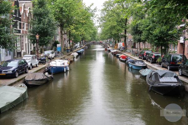 Amsterdam Kurztrip Spaziergang an den Grachten