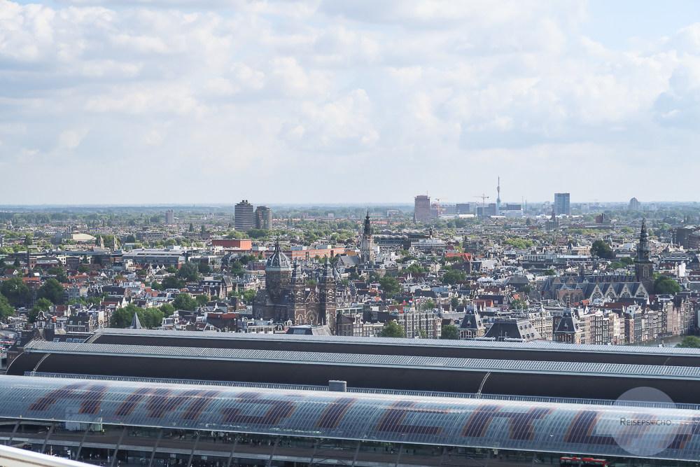 Aussicht vom Adam Lookout über Amsterdam