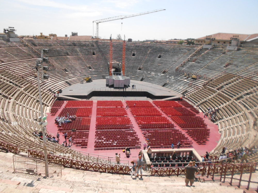 Führung durch die Arena in Verona