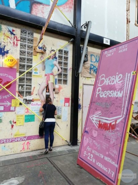 Barbie Peep Show in Amsterdam