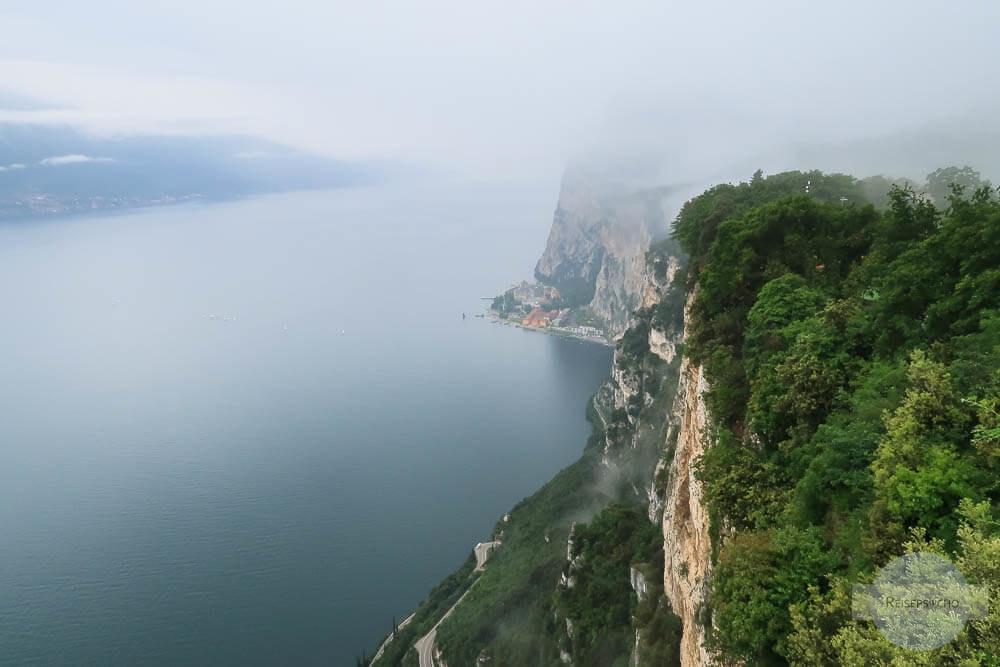 Gardasee Nebel Schauderterrasse