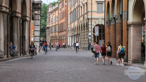 Via Emilia in Modena