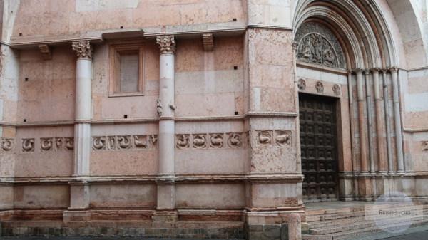 Baptisterium in Parma