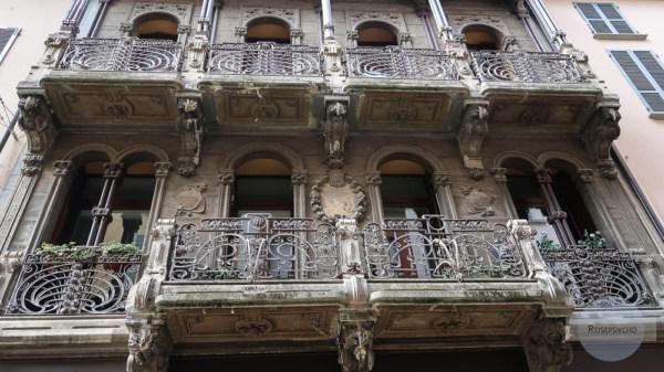 Balkon in Piacenza