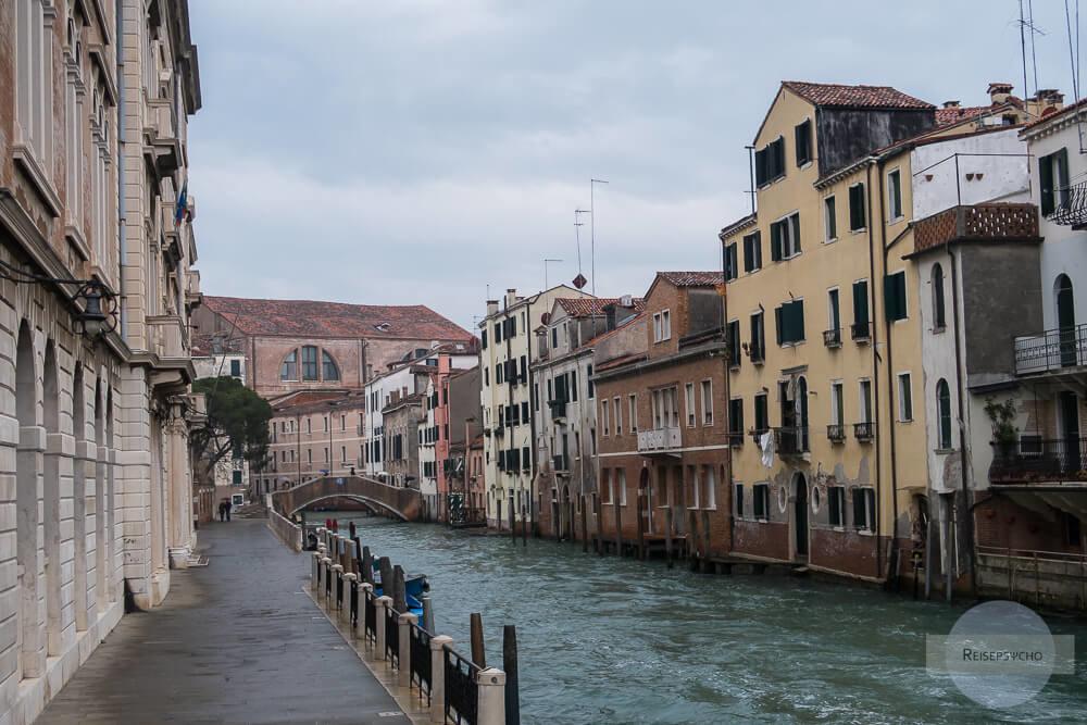 Venedig Regen