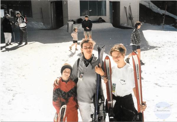 Skifahren im Sommer 1998