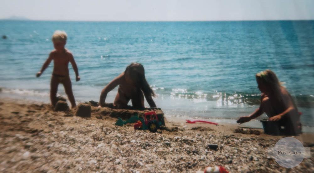 Erinnerungen ans Reisen damals nach Griechenland