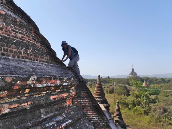 Silvester in Bagan