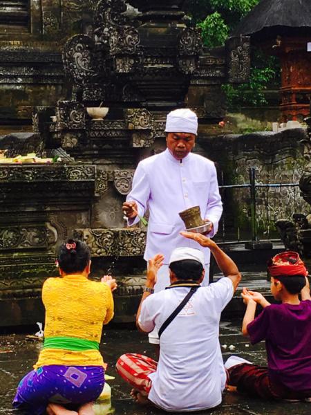 Silvesterzeremonie auf Bali