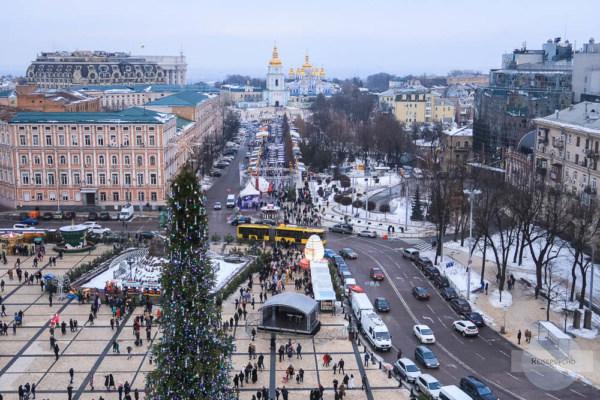 Kiew Silvester feiern