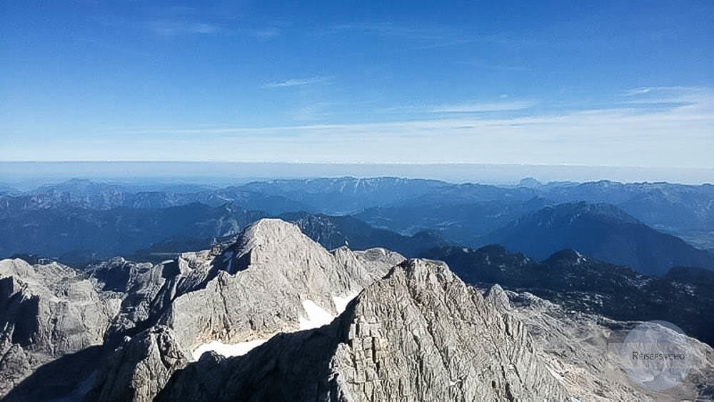 Gipfel Hoher Dachstein Ausblick