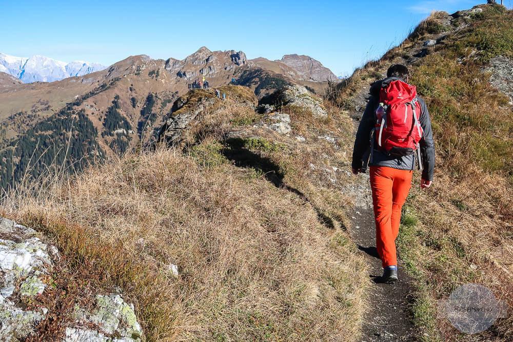 Rucksack packen beim Wandern