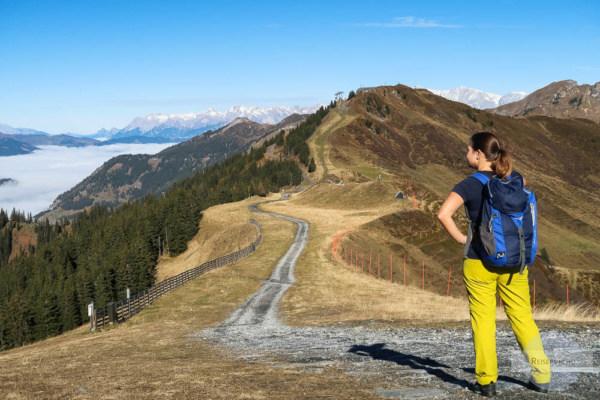 Bergwandern Ende Oktober Gastein