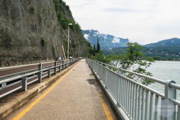 Radweg Riva del Garda