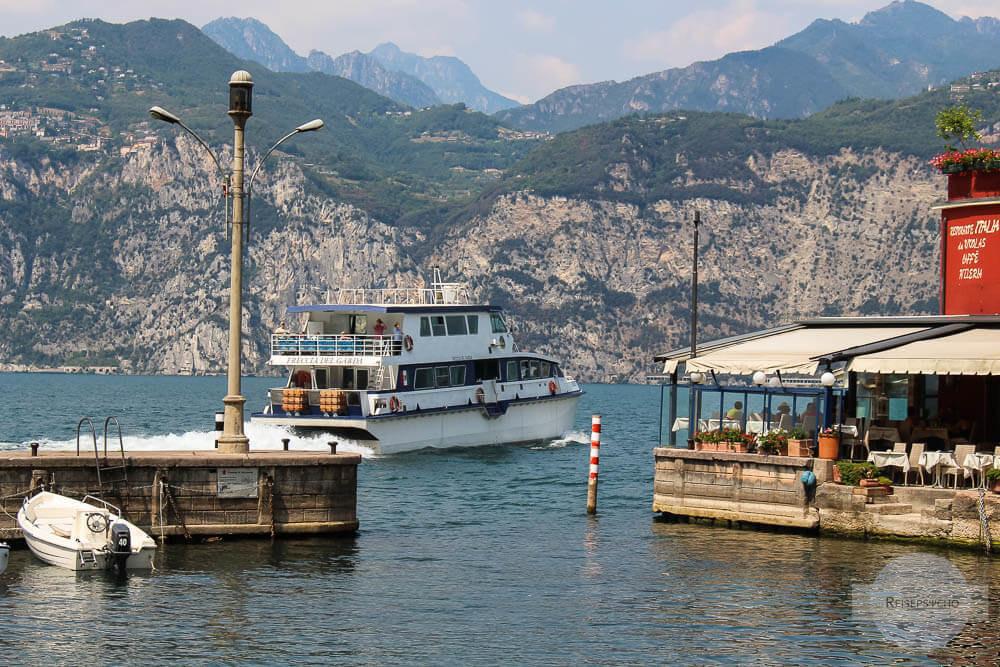 Gardasee Anreise mit Schiff