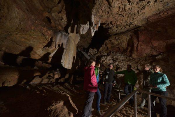 Eine Führung in der Kraushöhle