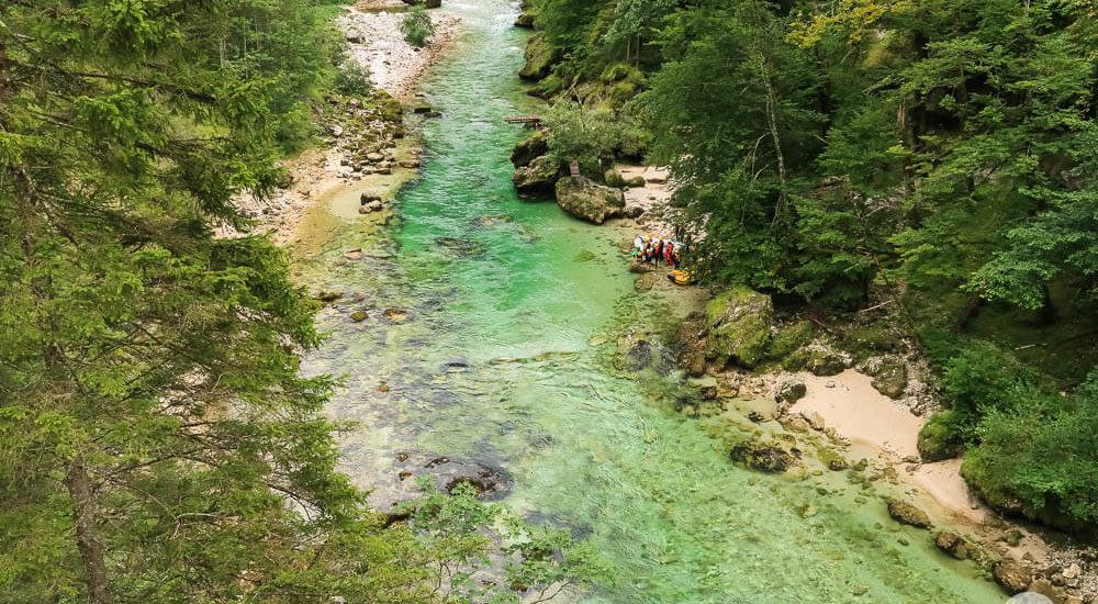 Die Salza im Natur- und Geopark Steirische Eisenwurzen
