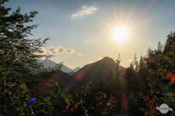 Natur- und Geopark Steirische Eisenwurzen am Abend