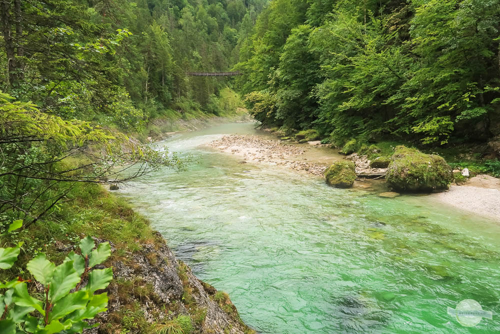 Salza im Gesäuse - ein glasklarer Fluss