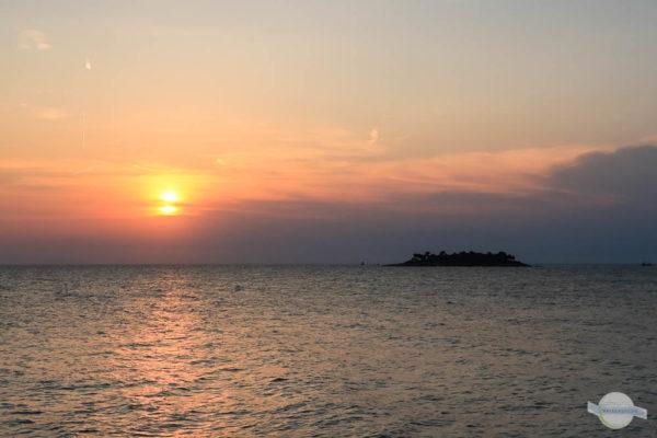 Sonnenuntergang in Vrsar