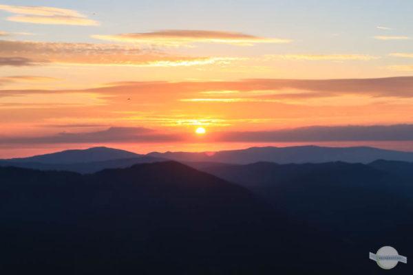 Sonnenaufgang auf der Teichalm