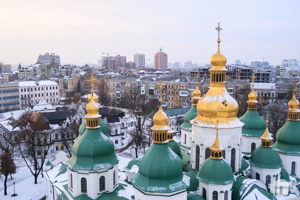 Kiew zu Silvester – ein ukrainisches Wintermärchen