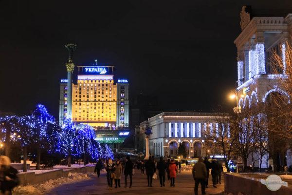 Majdan Platz in Kiew