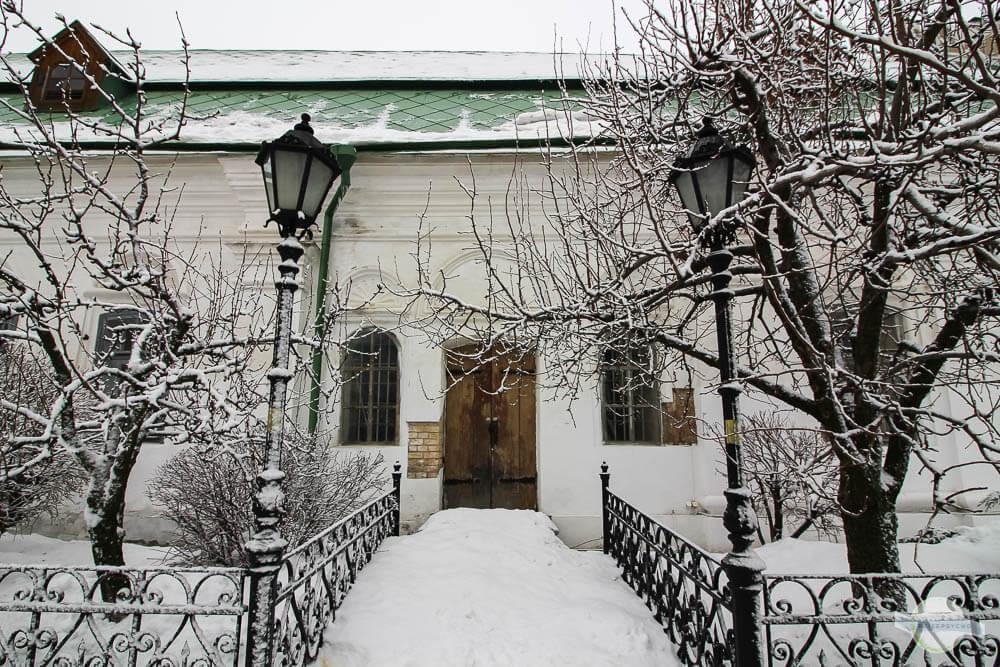 Winter in Kiew mit viel Schnee