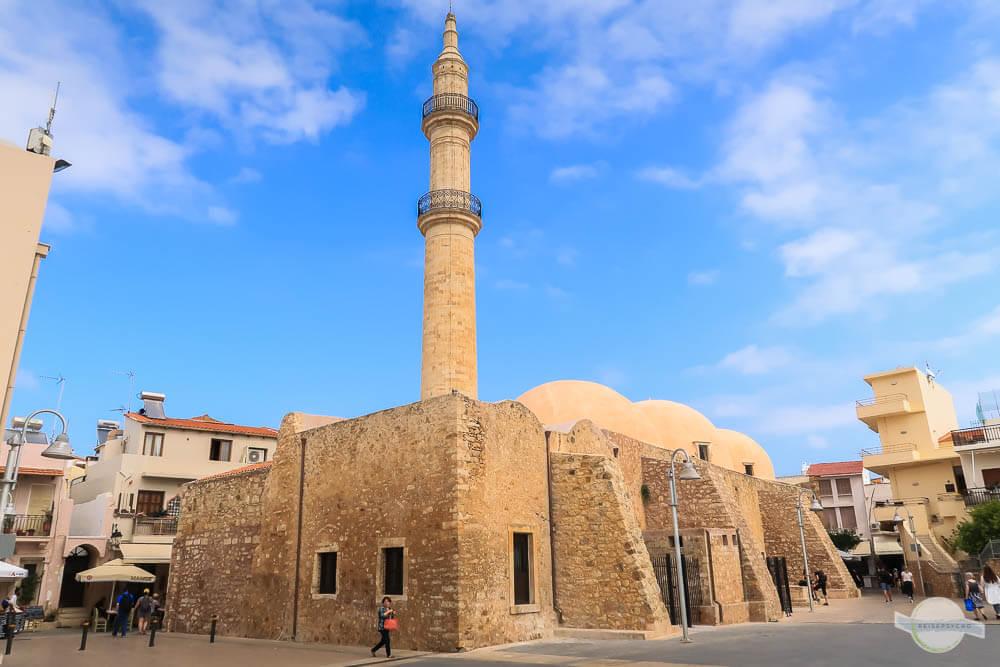 Nerantzes Tzami Moschee in Rethymnon