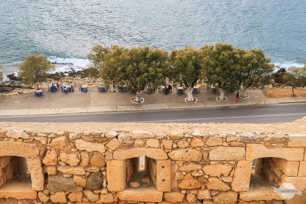 Blick von Fortezza auf Ufer