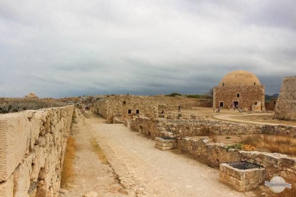 Fortezza Rethymno alte Mauern