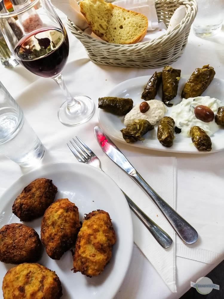 """Ein """"kleines"""" Mittagessen in der Taverne Loggia"""