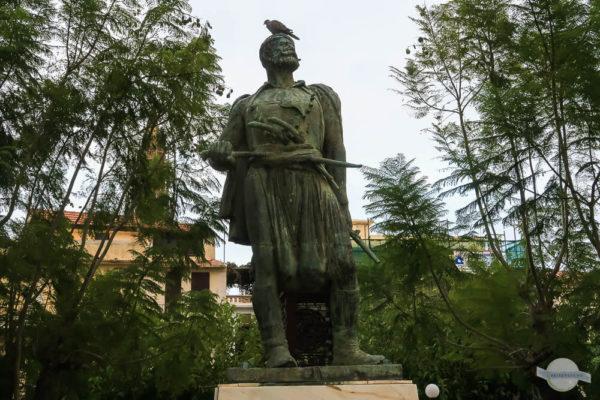 Statue von Freiheitskämpfer in Rethymno