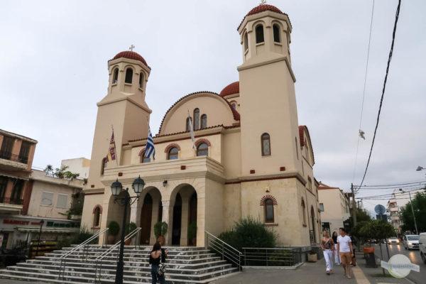 orthodoxe Kirche Tesseron Martiron auf Kreta