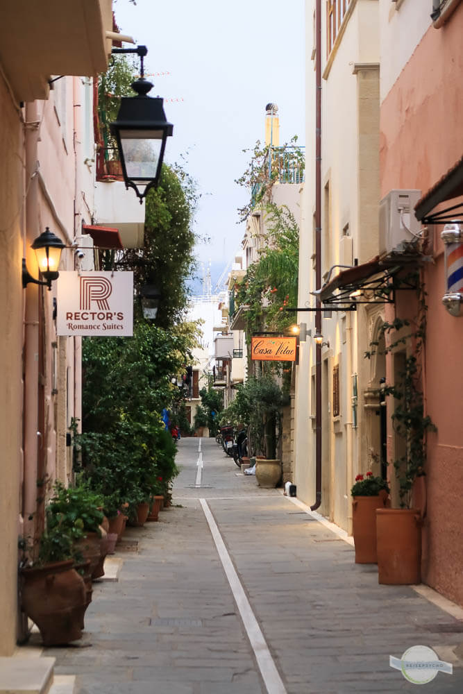 Gassen in Rethymno Kreta